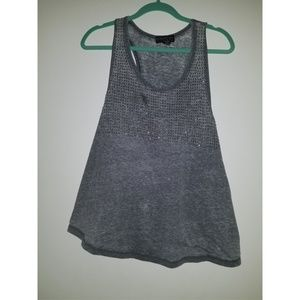 Forever 21 gray top xl